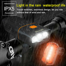 USB Rechargeable Bicycle/Super Bright Bike Lights & Tail Light Kit Waterproof