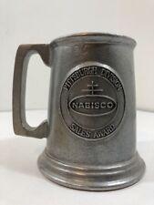 Nabisco Pittsburgh Sales Award - Wilton Pewter Tankard