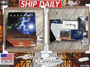 Vintage VTG Descent Levels of the World PC Big Box Game CD Complete DOS VERSION