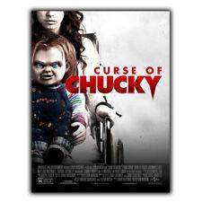 Juego de niños 6 Maldición de Chucky Película De Placa De Pared Letrero de metal película Anuncio Cartel