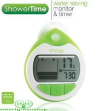 Efergy Showertime EF-015 Shower Timer Save Water Meter Energy Monitor LCD Clock