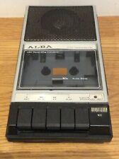More details for vintage retro alba - ac/dc cassette recorder