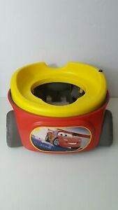 Disney's Pixar Lightning McQueen Cars Potty training toilet with sound working