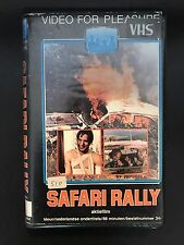Safari rally Ex-Rental Vintage Big Box VHS Tape English with dutch subs Rare