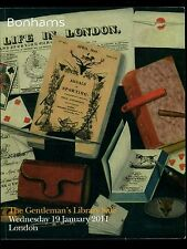 THE GENTLEMAN' S LIBRARY SALE Catalogo asta Londra 2011 Bonhams 2011