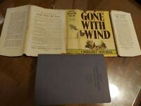 Rare DJ Gone with the Wind First Edition 1938 printing Margaret Mitchell 1st