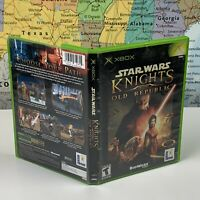 SHIPS SAME DAY Star Wars: Knights of the Old Republic - Xbox - Case Only NO DISC