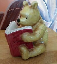 """Disney Classic Pooh """"All About Honey"""" Bank by Michel & Company. 6.5"""" EUC"""