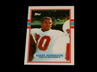 Vintage NFL Football Trading Card, 1989 TOPPS,TAMPA BAY BUCCANEERS,Mark Robinson