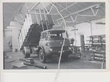 Photo Bedford Tipper,  Workshop Scene