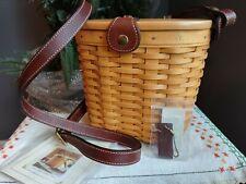 Longaberger Basket Saddlebrook Purse Medium