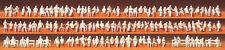Figurines Preiser N (79007) 120 x personnes assis