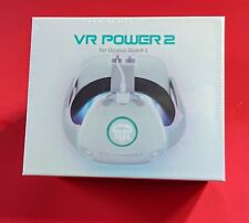 Rebuff Reality VR Power 2 Battery Pack for Oculus Quest 2 | NEW IN BOX | White
