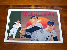 BOSTON RED SOX TED WILLIAMS 1991 UPPER DECK BASEBALL HEROES #36 OF 36