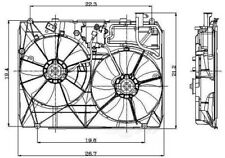 Auxiliary Fan Assembly For 2004-2005 Toyota Sienna 3.3L V6 2811555