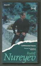 RUDOLF NUREYEV - 90 minutes video biography - RM Associates - VHS VIDEO