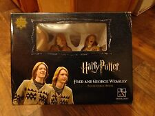 2008 GENTLE GIANT--HARRY POTTER--FRED AND GEORGE WEASLEY COLLECTIBLE BUSTS