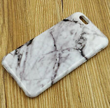 for iPhone 6 or 6S+ PLUS - Ultra Thin TPU Rubber Case Cover Marble Stone Pattern