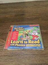 READER RABBIT LEARN TO READ WITH PHONICS PRESCHOOL & KINDER-2CD