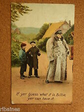 R&L Postcard: If Yer Guess What It Is Billie Yer Can Have It, Fur Coat, Bamforth