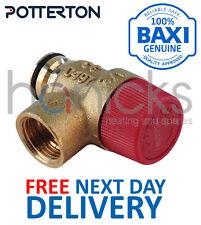 Potterton Idraulico 3 Bar, sollievo dalla pressione valvola di sicurezza 248056 Genuine Part Nuovo