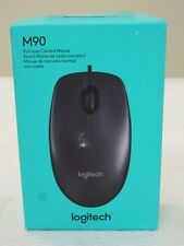* NEW IN BOX * Logitech M90 Wired Optical Mouse, Mice, 3Button, 1000DPI, USB