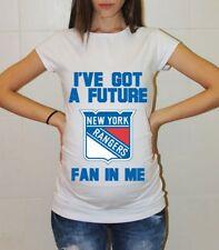 New York Rangers Baby Shower Maternity Shirt Hockey Pregnancy Tee Shirt Baby
