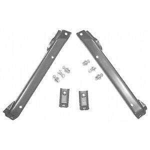 Bumper Mounting Bracket Set; Made Of Steel fits 71-72 Chevy 4143-005-71S