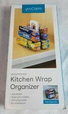 YouCopia StoreMore Adjustable WrapStand Kitchen Wrap Box Organizer  Caddy