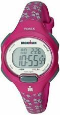Timex TW5M07000, Women's 10-Lap Ironman Triathlon Resin Watch, Alarm, Indiglo