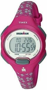 Timex TW5M07000, Women's 10-Lap Ironman Triathlon Resin Watch, Alarm, Indiglo