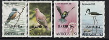 BARBUDA:1980 Birds overprinted BARBUDA SG536-9 unmounted mint