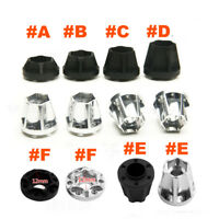 "4x Metall Wheel Hex Hubs for RC 1:10 Crawler 1.9"" 2.2"" Beadlock Wheem Rims"