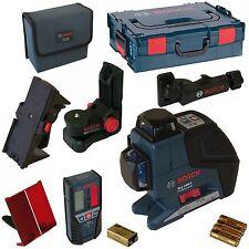 Bosch GLL 3-80 P 060106330A Laser croix 3 lignes BM1 LR2 L-Boxx = DW082 DW088