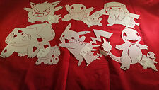 AIRBRUSH T SHIRT HAT STENCIL POKEY MAN VENDOR PACKAGE 45+ STENCILS ART DESIGNS