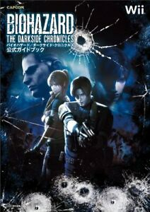 BIOHAZARD The Darkside Chronicles Official Guidebook Resident Evil Nintendo Wii