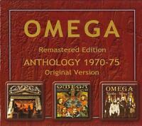 OMEGA = Anthology 1970-75 = REMASTERED EDITION 3CD = PROG ROCK HARD ROCK !!