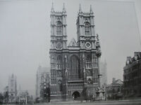 England Cathedrals Westminster Abbey Christian History Victorian Age 1895