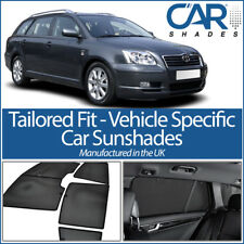 Toyota Avensis Estate 03-08 UV CAR SHADES WINDOW SUN BLINDS PRIVACY GLASS TINT