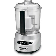 Cuisinart Mini-Prep Plus 4-Cup Food Processor, Brushed Stainless Refurbished