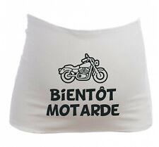 Bandeau Grossesse Maternité Bientôt Motarde - Femme Enceinte future maman - Moto