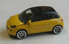 Majorette Opel Adam gelb/schwarz Auto PKW Car Kleinwagen yellow/black