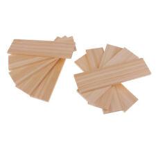 Pacchetto di fasci di legno di balsa 10 fogli di spessore 6mm modello di