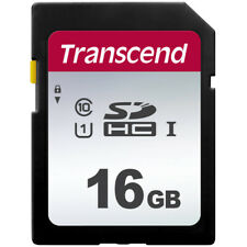 Transcend 16GB Class 10 SDHC Memory for Nikon D7500 D7100 D5200 D3500 D3100 D750
