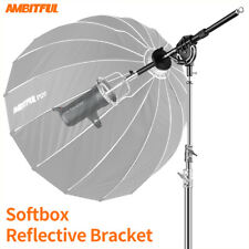 AMBITFUL Bowens Softbox Reflector Extendable Bracket for Bowens Mount Flash