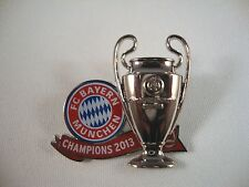 "Champions League Sieger Pin FC Bayern München ""Champions 2013"" CL winner"