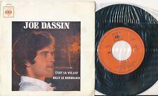 JOE DASSIN 45 TOURS PORTUGAL C'EST LA VIE LILY+