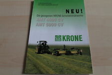 128765) Krone Scheibenmähwerk AMT 4000 5000 CV Prospekt 200?