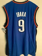 Adidas NBA Jersey Oklahoma City Thunder Serge Ibaka Blue sz L