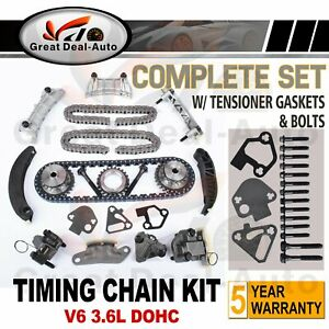 Timing Chain Kit + Gears for Holden Commodore VZ Crewman 3.6L V6 UP TO 08/2006